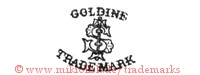 Goldine / S / Trade Mark (mit Stab?)