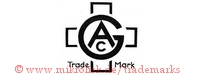 GAC / Trade Mark (ineinander, im Kreuz)