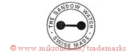 The Sandow Watch / Swiss made (im Kreis mit Hantel)
