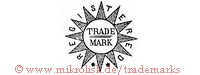Registered / Trade Mark (auf Stern)