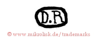 D.R (im Oval)