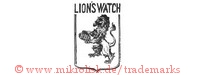 Lion's Watch (mit Löwe im Schild)