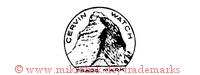 Cervin Watch / Trade Mark (mit Berg im Kreis)