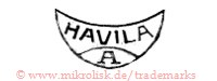 Havila / A (in runder Form / Halbmond?)
