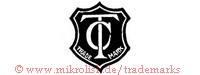 TC / Trade Mark (ineinander, im Schild)