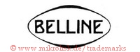 Belline (im Oval)