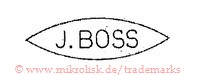 J.Boss (in Raute/Oval) | j boss