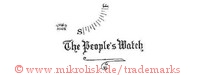 The People's Watch / Swiss Made / S.F.