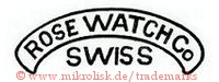 Rose Watch Co. / Swiss (im Banner)