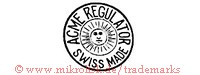 Acme Regulator / Swiss Made (im Kreis mit Sonne)
