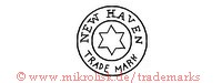 New Haven Trade Mark (im Kreis mit Stern)