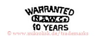 Sunrise / Warranted / N.A.W.Co. / 10 Years