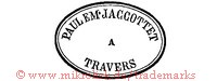 Paul Eme Jaccottet a Travers (im Oval) | em paulem