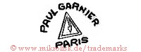Paul Garnier / Paris (mit Dreieck)