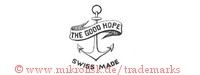 The Good Hope / Swiss Made (auf Banner mit Anker)
