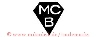 MC B (in Diamantenform)