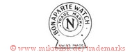 Bonaparte Watch / Trade Mark / N / Swiss Made (im Kreis / Schild)