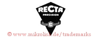 Recta Precision (in spitzer Form mit Armbanduhr)