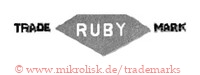 Trade Mark / Ruby (mit Diamant-Form)