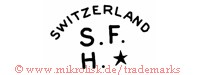 Switzerland / S.F.H. (mit Stern)