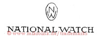 NW / National Watch (im Oval)